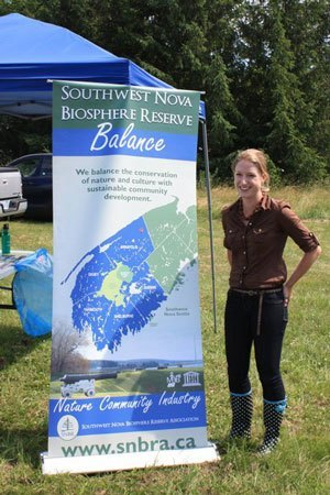 Promoting the Southwest Nova Biosphere throughout the region in the summer of 2011