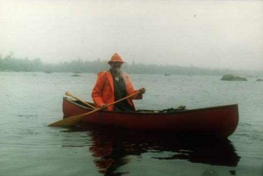 Clearwater Lake: on the way to Buckshot and the headwater of the Shelburne River: Photo Credit: Jim Todd