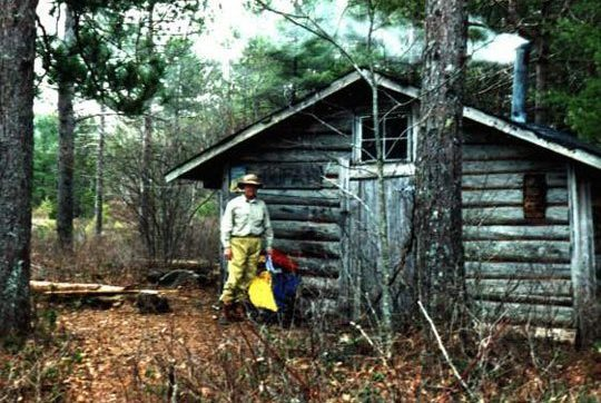 Cofan Camp: Near the outlet of Sand Beach Lake, a dry refuge in wet weather. Photo Credit: Jim Todd