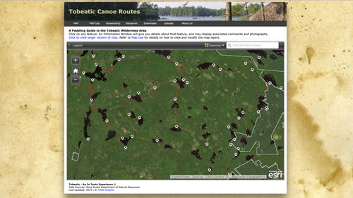 Tobeatic Canoe Routes
