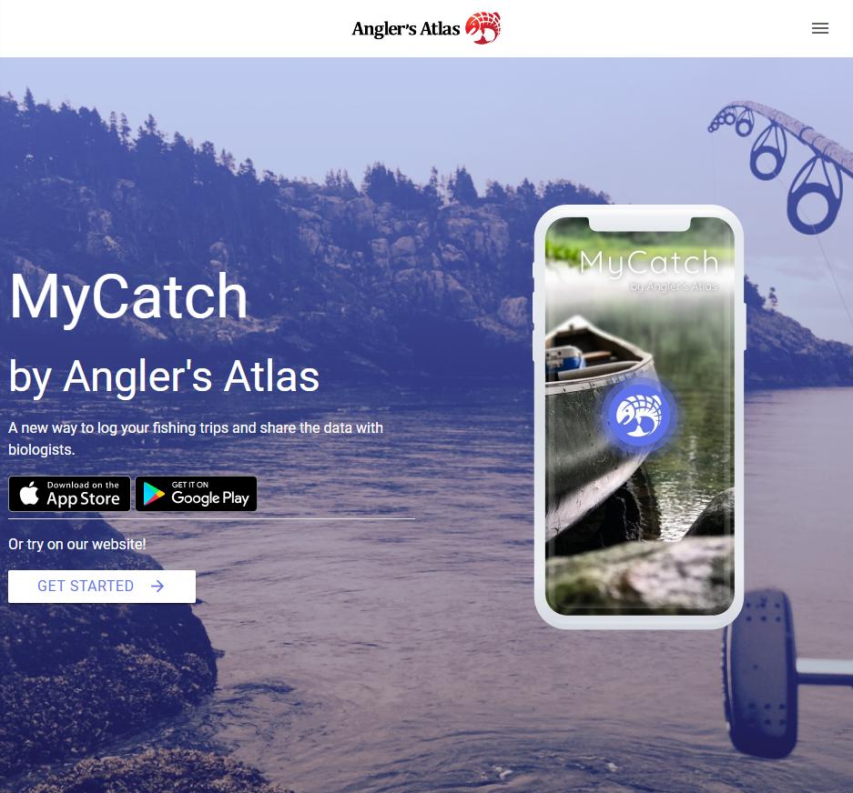 MyCatch app by Angler's Atlas