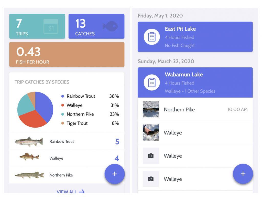 Screenshot MyCatch App