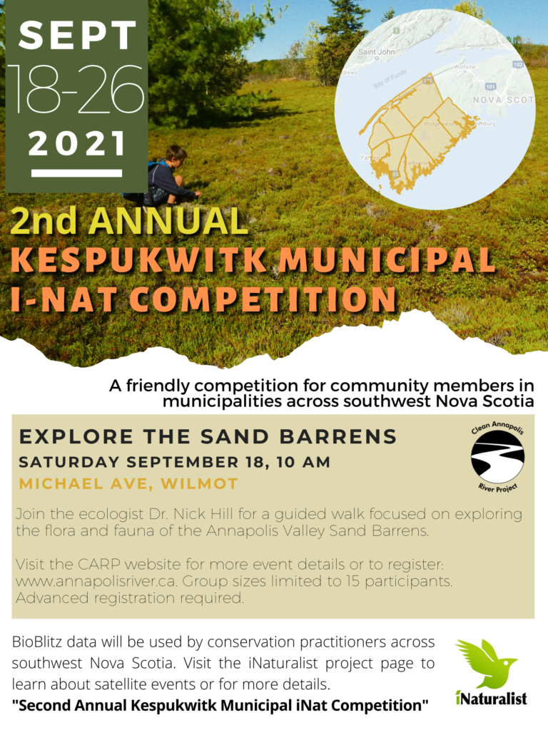 Second Annual Kepulwitk Municipal iNaturalist Competition